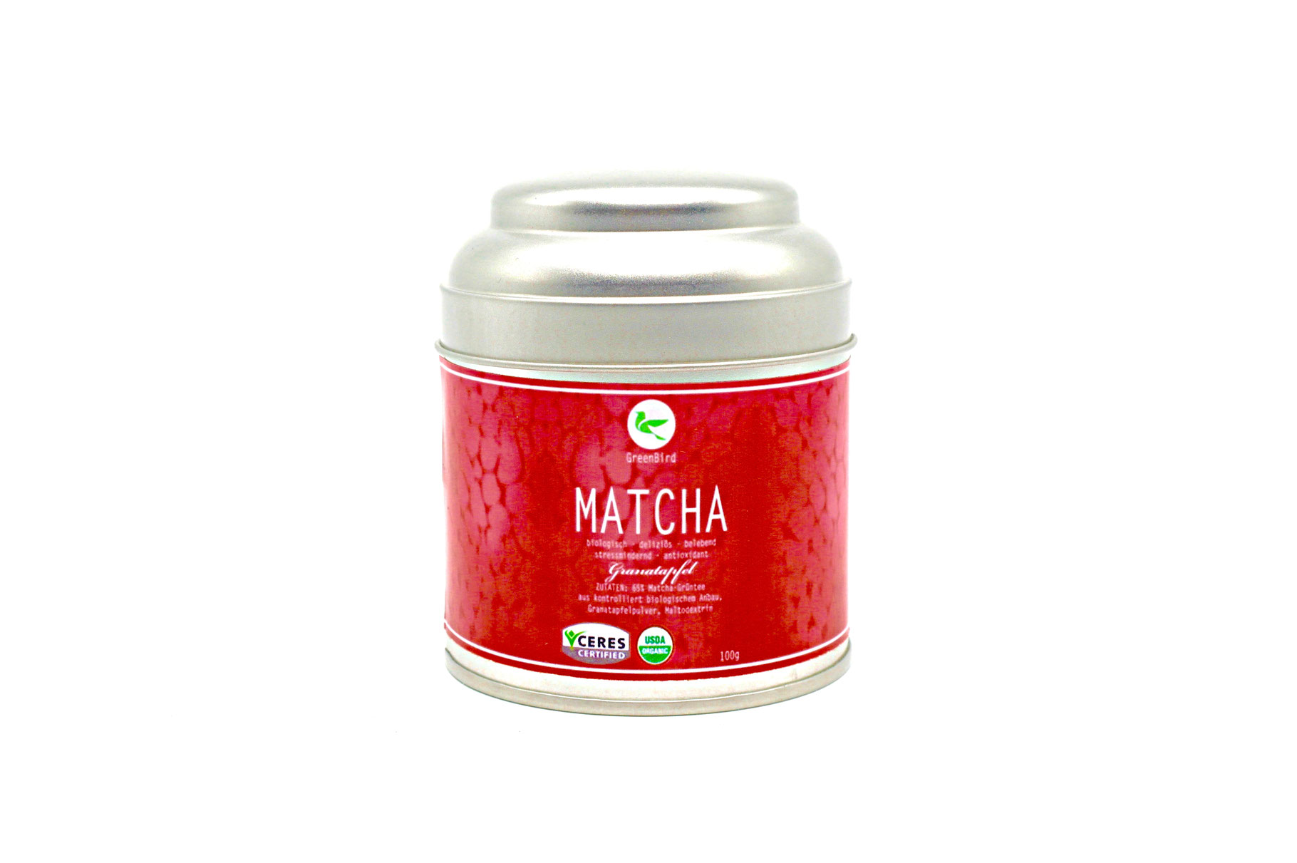 matcha tee granatapfel bio 100 g matcha tee g nstig kaufen auf ich. Black Bedroom Furniture Sets. Home Design Ideas