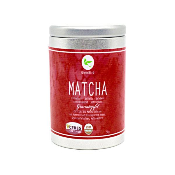 Matcha Tee Granatapfel 50g