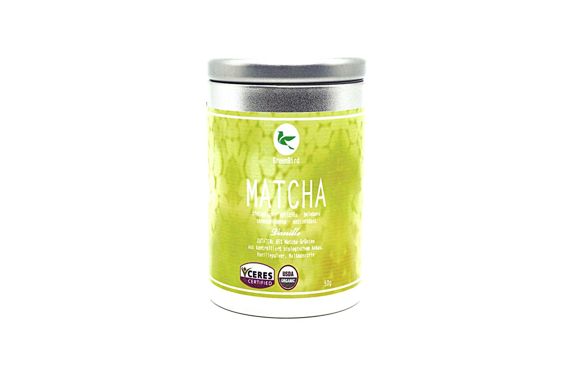 Matcha Tee Vanille 50g