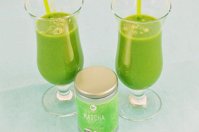 Matcha Smoothie Thermomix Rezept